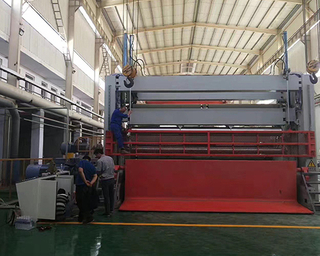 High-speed Bottom Feeding Rewinder