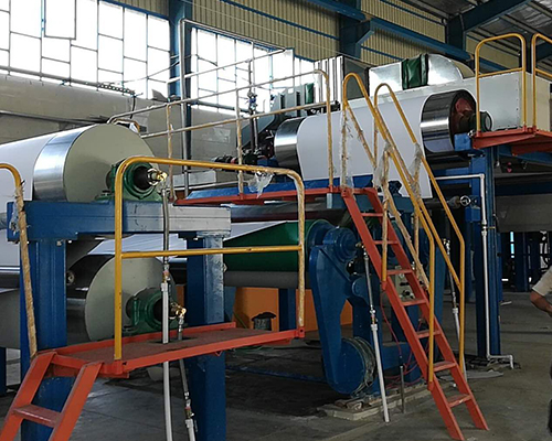 Roll And Doctor Type Coating Machine